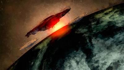 Invasion Earth Art Print