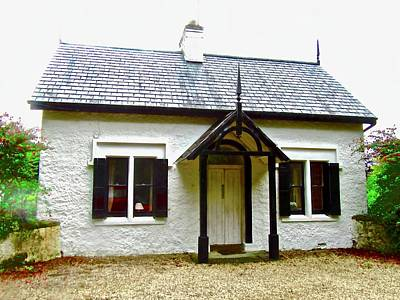 Photograph - Irish Cottage by Stephanie Moore