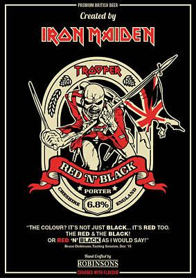 Eddie Digital Art - Iron Maiden by Caio Caldas