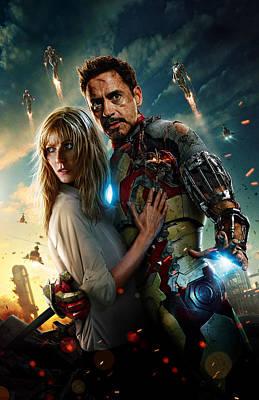 Iron Man 3 Art Print by Unknown