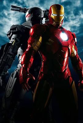 Iron Man Art Print by Unknown