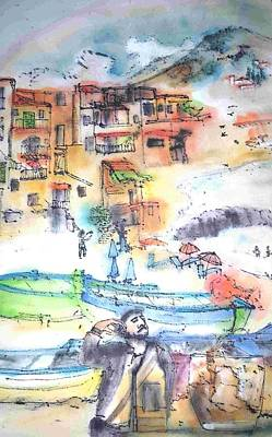 Sicily Painting - Italy The Red And Green Of It Album by Debbi Saccomanno Chan