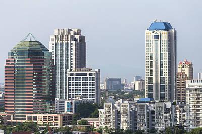 Photograph - Jakarta Skyline by Didier Marti