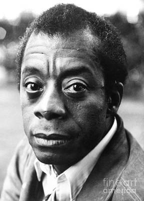 20th Century Photograph - James Baldwin (1924-1987) by Granger