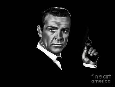 James Bond Collection Art Print