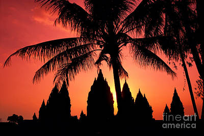 Java, Prambanan Art Print by Gloria & Richard Maschmeyer - Printscapes