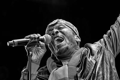 Jimmy Cliff Collection Art Print by Marvin Blaine