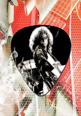 Jimmy Page Led Zeppelin Art Art Print