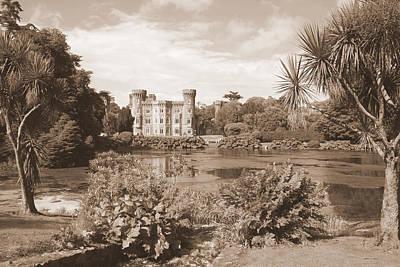 Irish Castle Photograph - Johnstown Castle by John Quinn