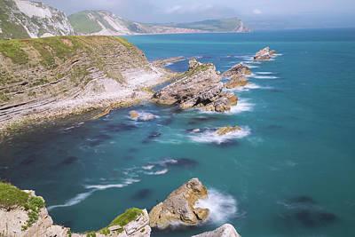 Ledge Photograph - Jurassic Coast - England by Joana Kruse
