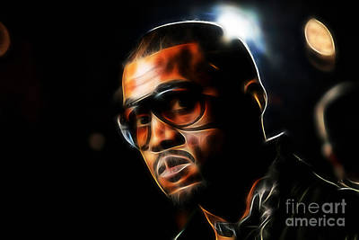 Hip Hop Mixed Media - Kanye Collection by Marvin Blaine