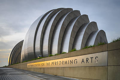 Photograph - Kauffman Center by Ryan Heffron