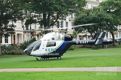 Photograph - Kent Air Ambulance by David Fowler