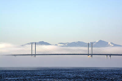Photograph - Kessock Bridge, Inverness by Veli Bariskan