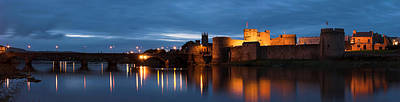 Fantasy Royalty-Free and Rights-Managed Images - King Johns Castle Limerick Ireland by Pierre Leclerc Photography