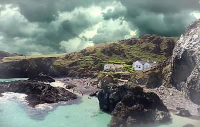 Cornwall Wall Art - Photograph - Kynance Cove  by Martin Newman