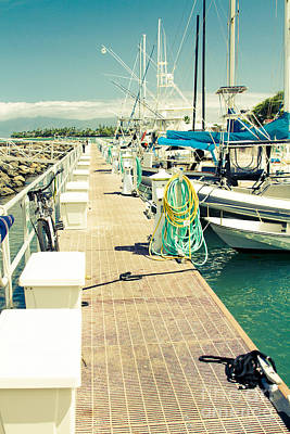 Lahaina Harbor Maui Hawaii Art Print by Sharon Mau