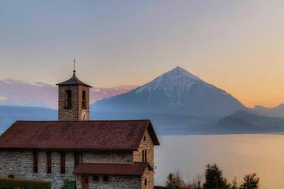 Swiss Photograph - Lake Thun - Switzerland by Joana Kruse