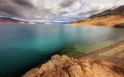 Photograph - Lake Tso Moriri by Alexey Stiop