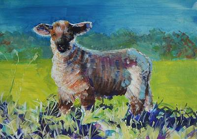 Painting - Lamb by Mike Jory