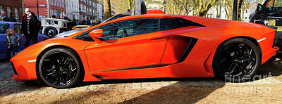 Photograph - Lamborghini Aventador by Colin Rayner
