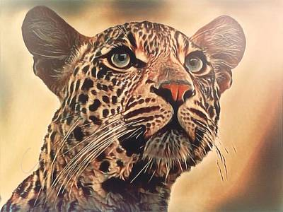 Photograph - Leopard by Gini Moore