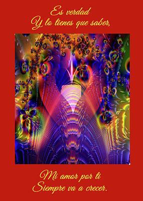 Light Of Eternal Peace And Love Art Print