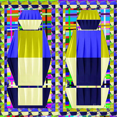 Painting - Lighting Illusions Fineart By Navinjoshi At Fineartamerica.com  Pleated Skirts Fabric Pattern And Te by Navin Joshi