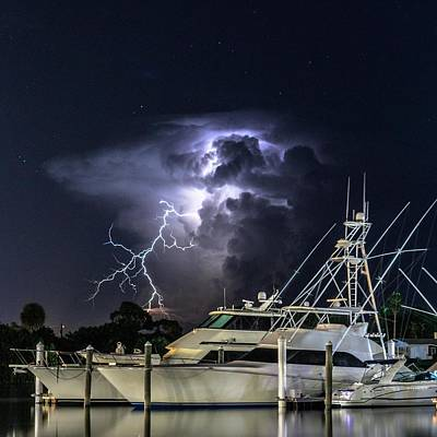 Photograph - Lightning by Christopher Perez