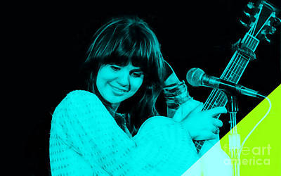Poster Mixed Media - Linda Ronstadt Collection by Marvin Blaine