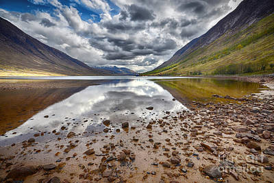 Scottish Landscape Photograph - Loch Etive by Smart Aviation