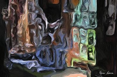 Digital Art - Looking Back by Rein Nomm