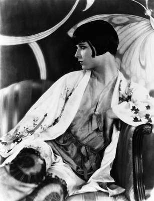 1920s Portraits Photograph - Louise Brooks, Ca. Late 1920s by Everett
