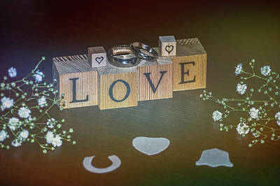 Promise Ring Photograph - Love by Angela Aird