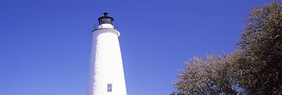 Ocracoke Lighthouse Photograph - Low Angle View Of A Lighthouse by Panoramic Images