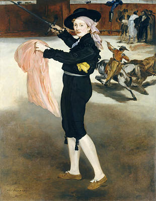 Espada Wall Art - Painting - Mademoiselle V. . . In The Costume Of An Espada by Edouard Manet