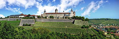 Photograph - Marienberg Fortress by Anthony Dezenzio