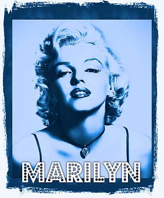 Actors Royalty-Free and Rights-Managed Images - Marilyn Monroe by John Springfield