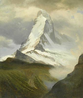 Painting - Matterhorn by Albert Bierstadt