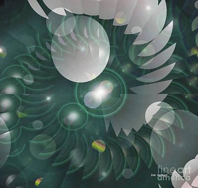 Digital Art - Maybe by Iris Gelbart
