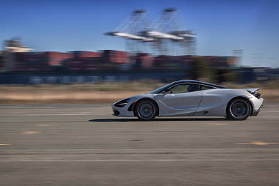 Photograph - #mclaren #720s #print by ItzKirb Photography