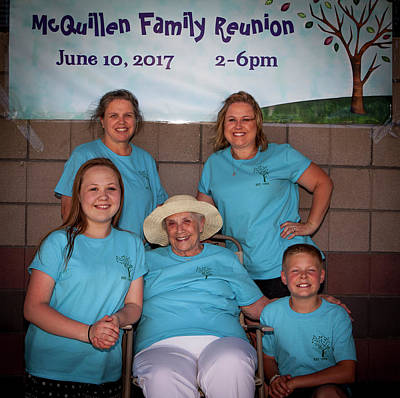 Photograph - Mcquillen Family Reunion 2017 by John A Rodriguez