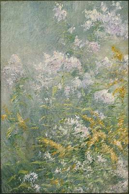 Wild Asters Painting - Meadow Flowers by John Henry