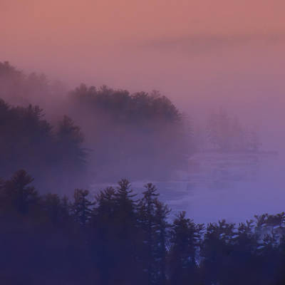 Photograph - Melvin Bay Fog by Brenda Jacobs