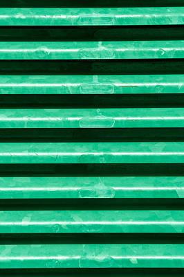 Realistic Photograph - Metal Bars by Tom Gowanlock