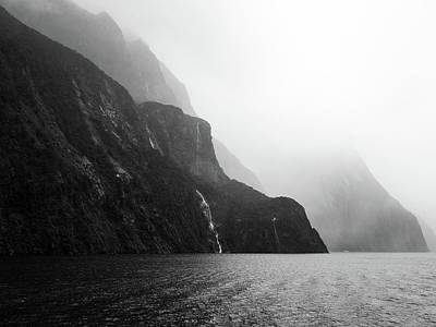 Photograph - Milford Sound by Walt Sterneman