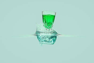 Photograph - Mint Liquor by Peter Lakomy