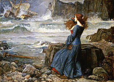 Miranda  Art Print by John William Waterhouse