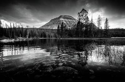Roaring Red - Mirror Lake by Gina Herbert