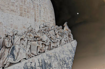 Photograph - Monument Of Discoveries by Allan Rothman